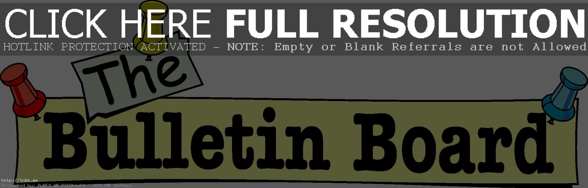 Bulletin Clipart & Free Clip Art Images #26131.