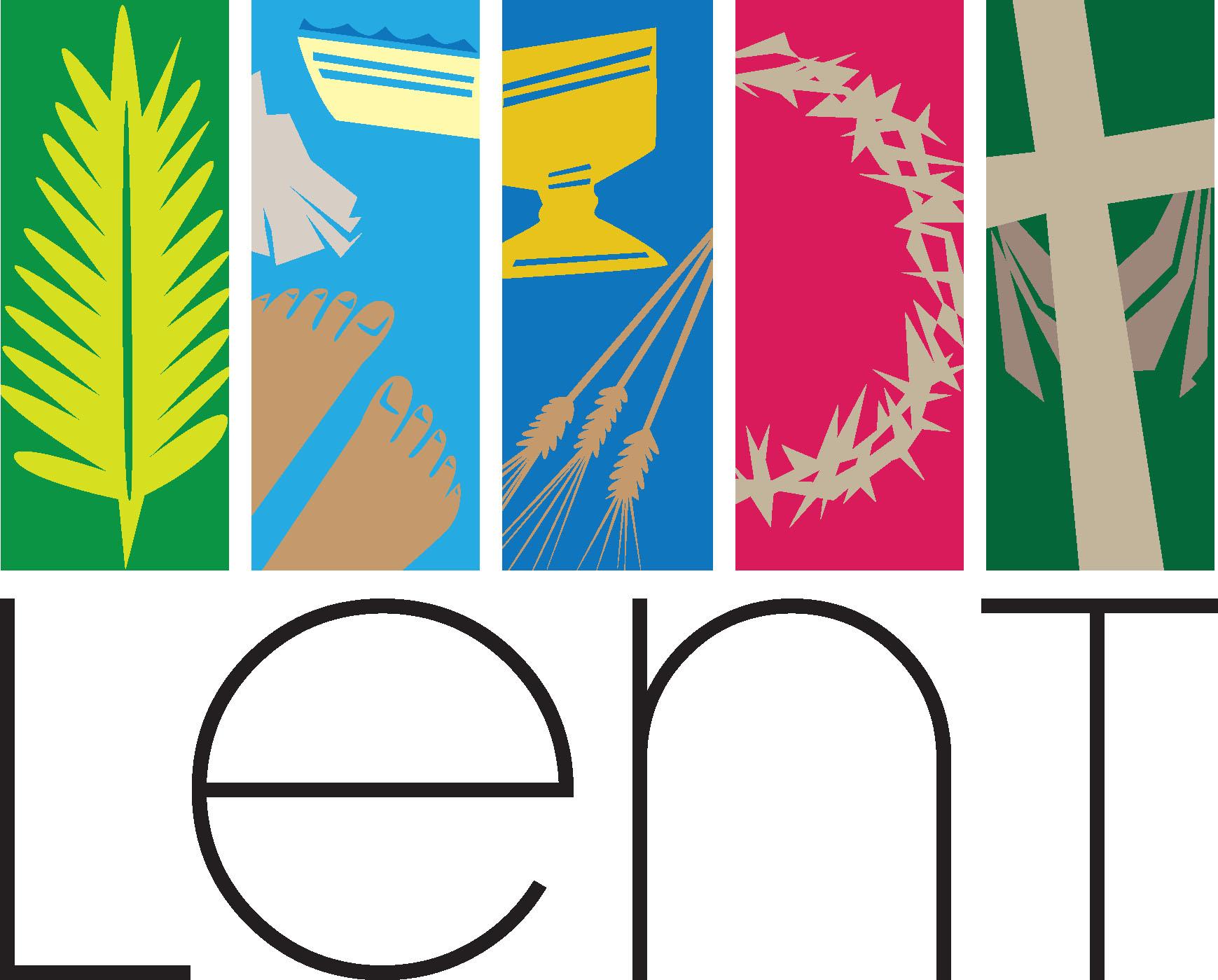 Lent Background Clipart.