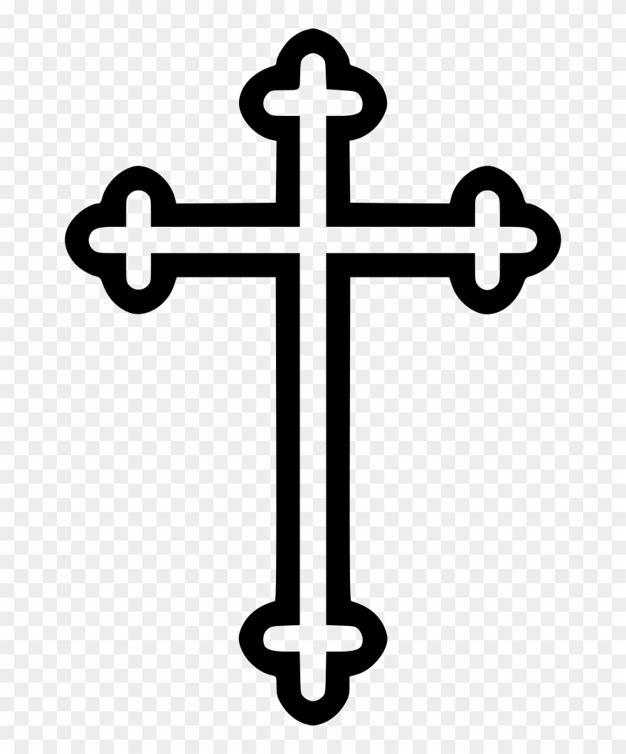 Cross Religion Symbol Byzantine.