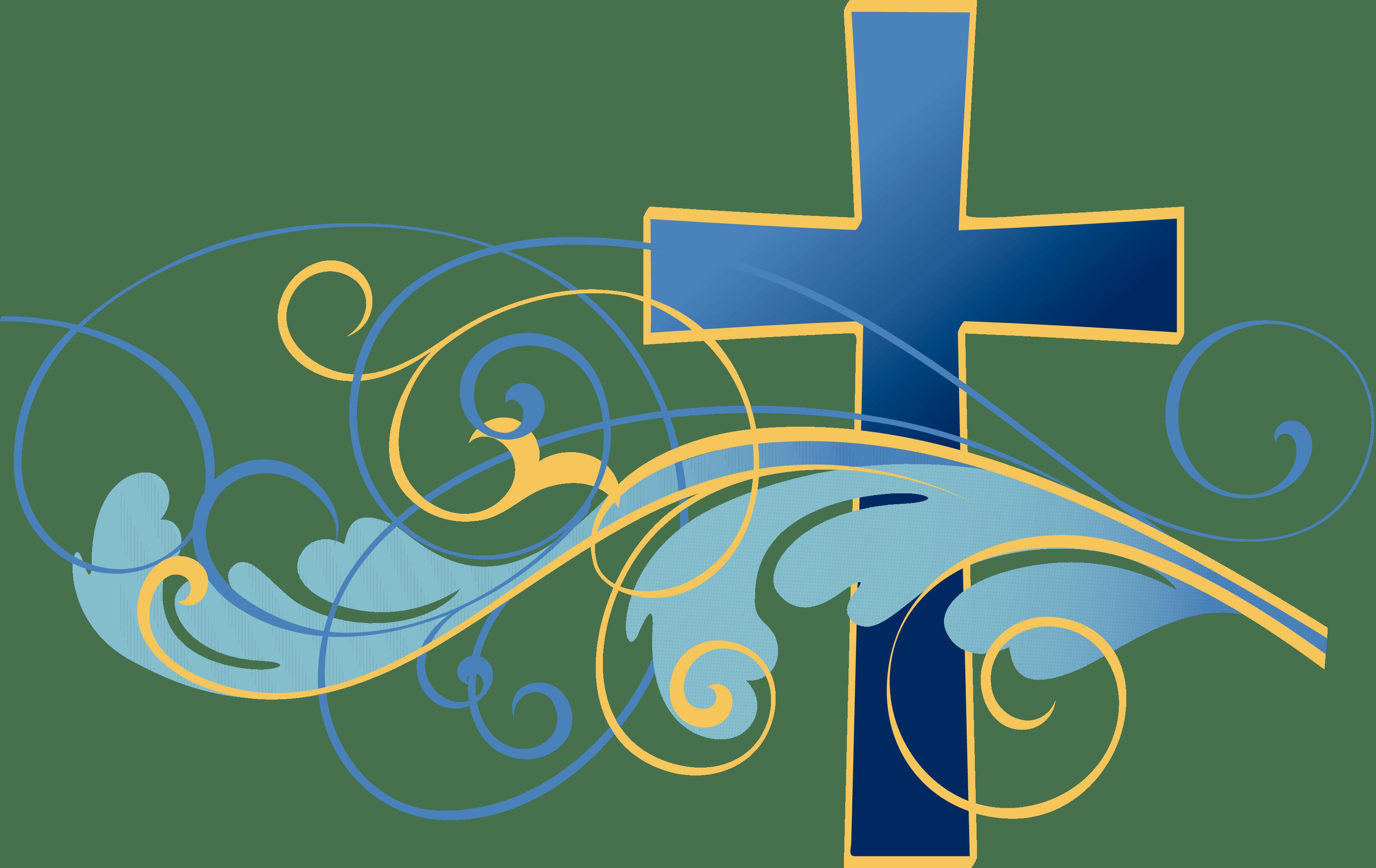 2694 Catholic free clipart.
