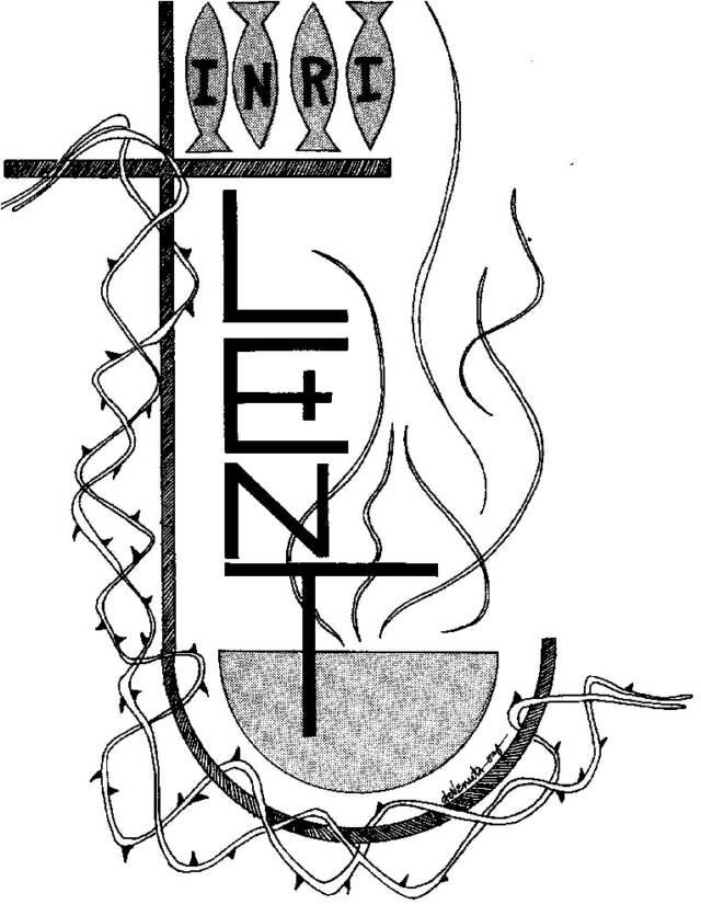 Lent Clipart.