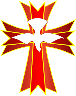 Holy Spirit Cross Clip Art.