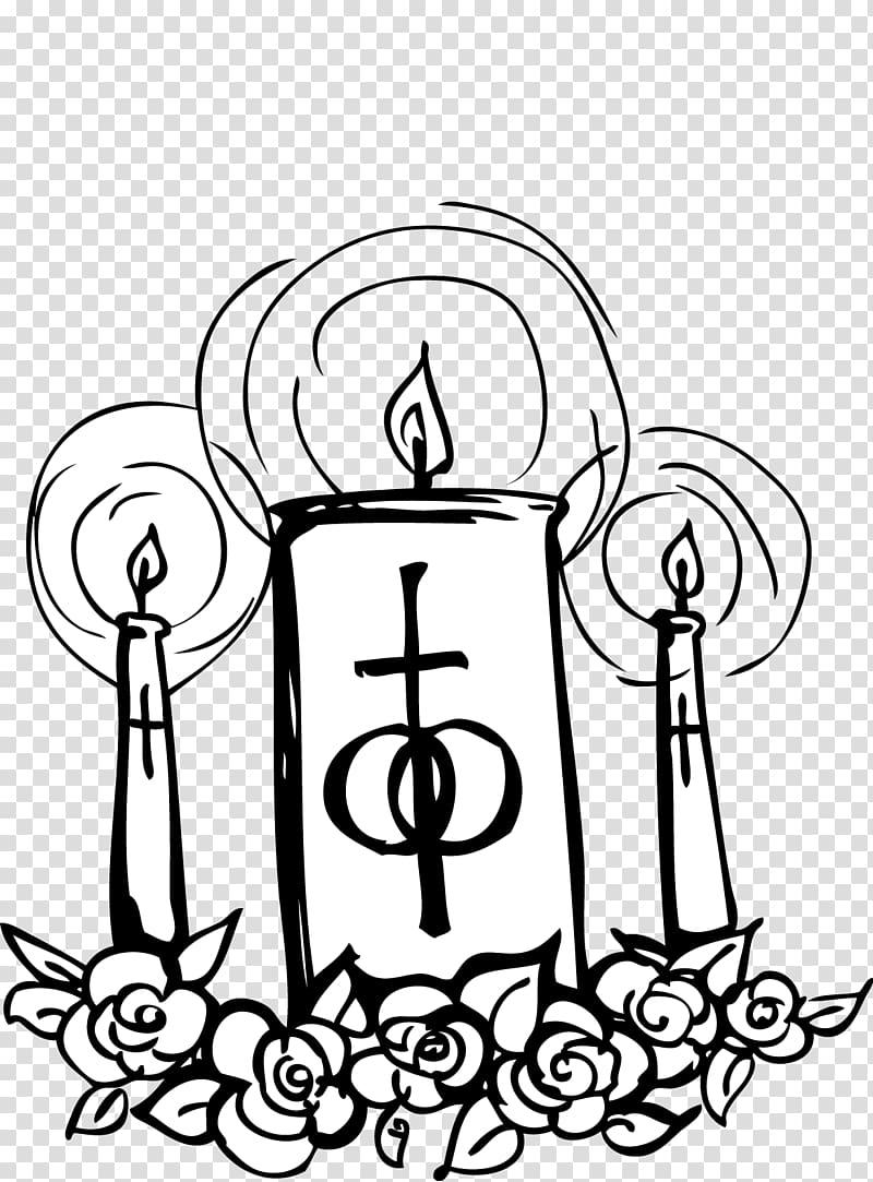 Catholic Church Catholicism Wedding , Church Candles transparent.