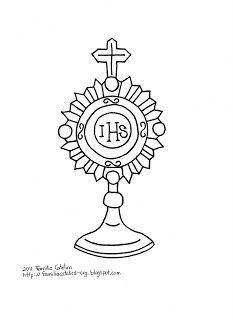 catholic monstrance clipart.