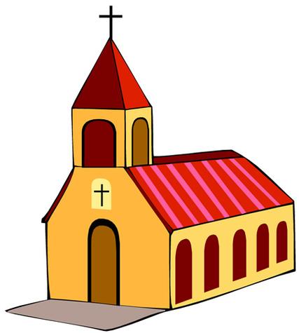 Clipart Catholic Church.