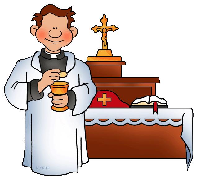 Clip Art of the Roman Catholic Church Sacraments.
