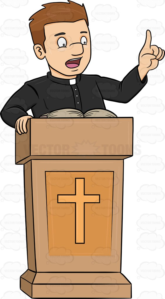165 Priest free clipart.