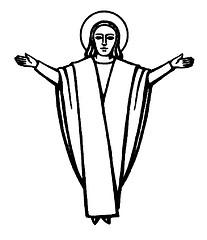 Catholic Religious Symbols.