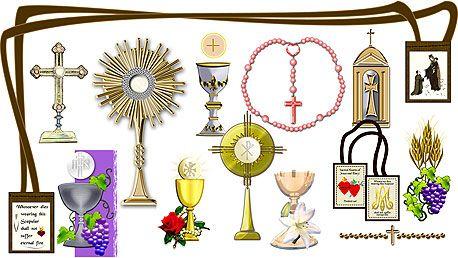 Details about Eucharist Communion Catholic Clipart Designs.
