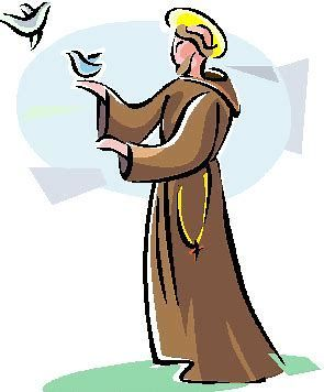 Image result for St. Francis of Assisi Clip Art Free.
