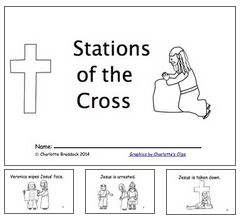 Printable Stations of the Cross for Children.