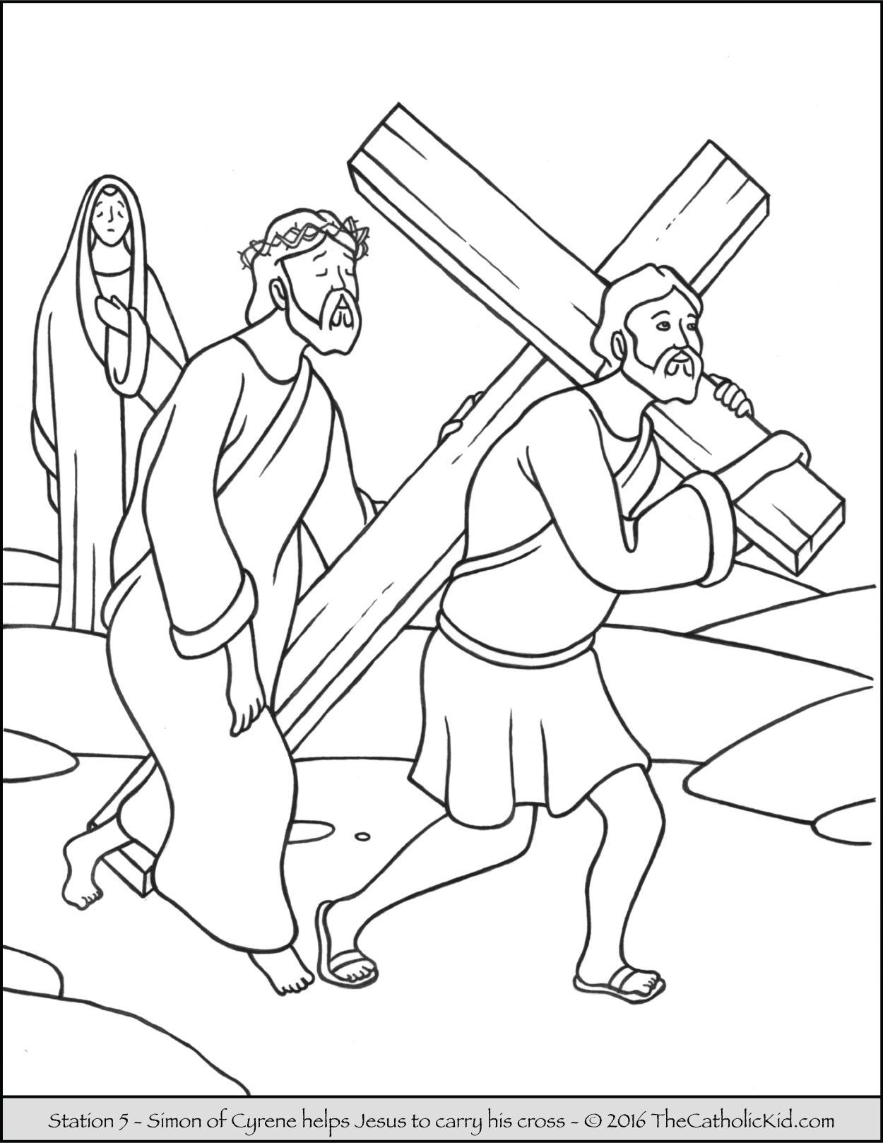 Catholic stations of the cross clipart 5 » Clipart Portal.