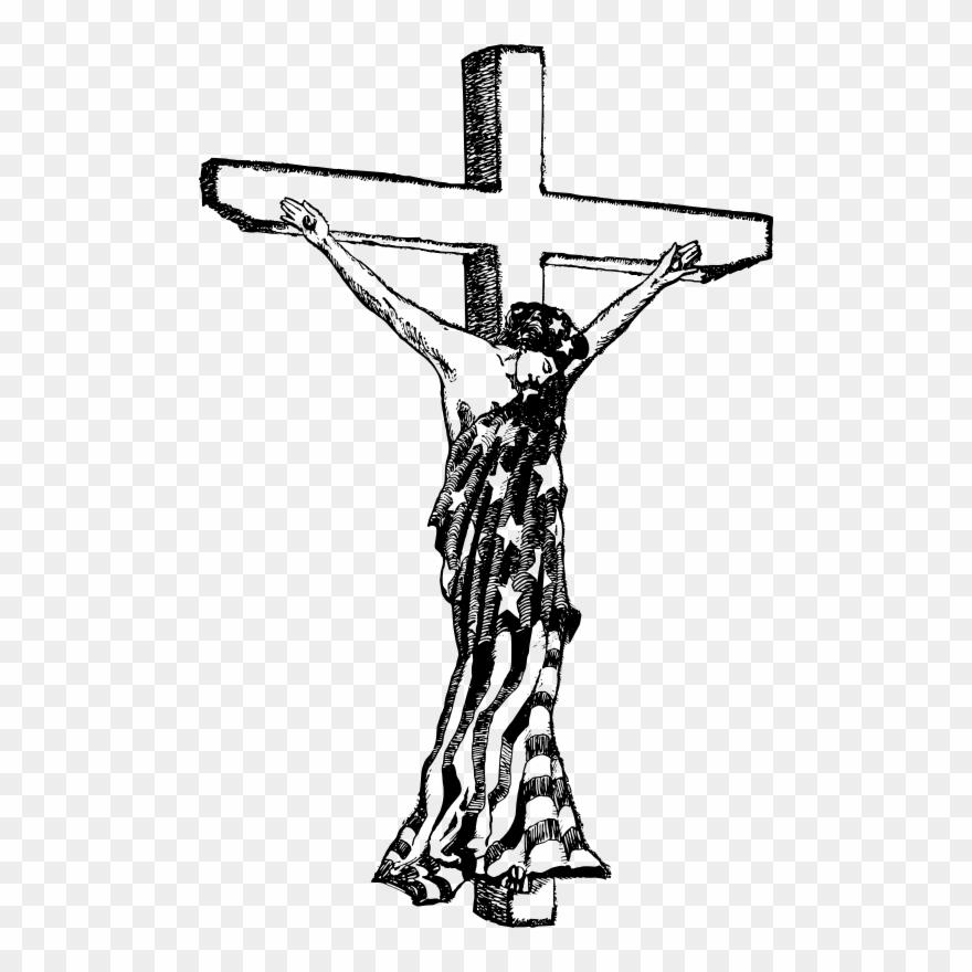 Roman Catholic Cross Symbol.
