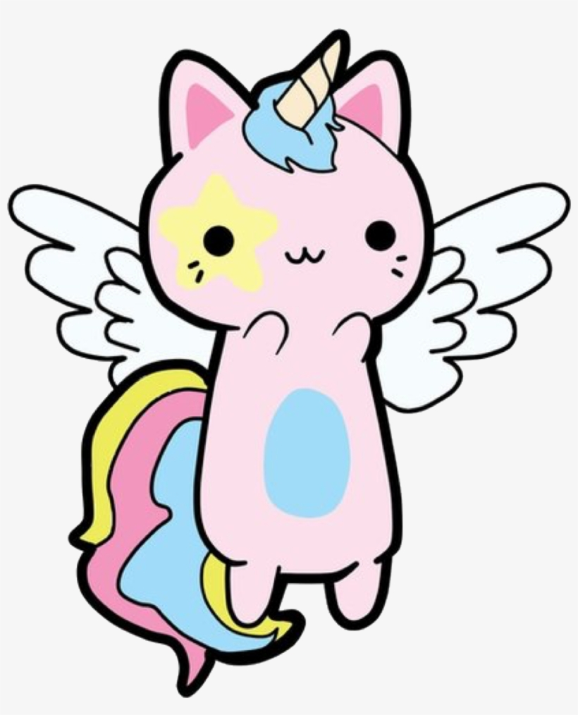 Kawaii Kitty Cat Caticorn Unicorn Please Vote For Me.