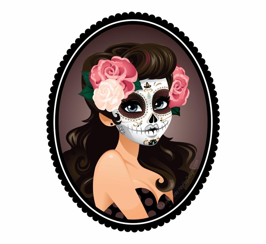 Tattoo Art Skull La Calavera Catrina Dead Clipart.