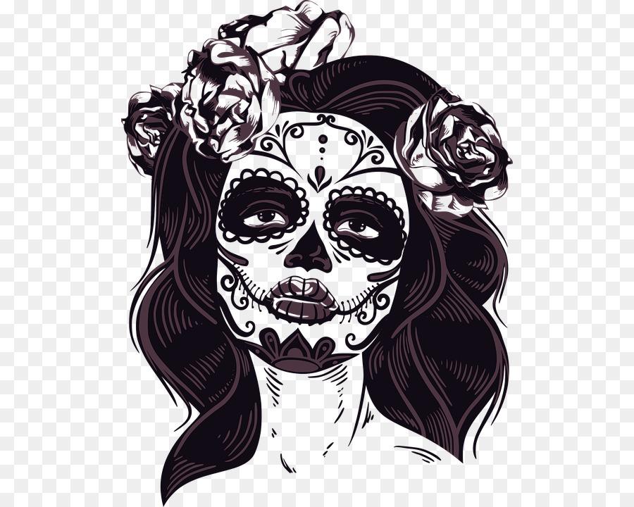 Head, Skull, Art, transparent png image & clipart free download.