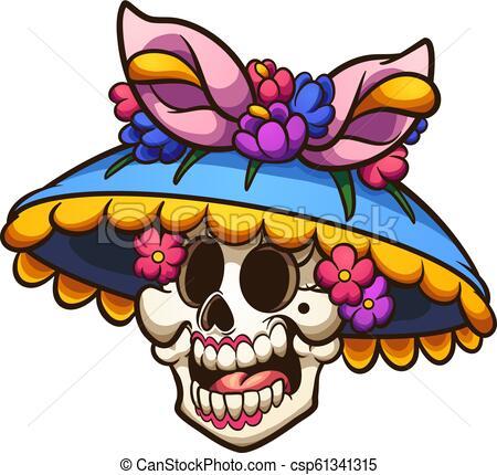 Mexican catrina.