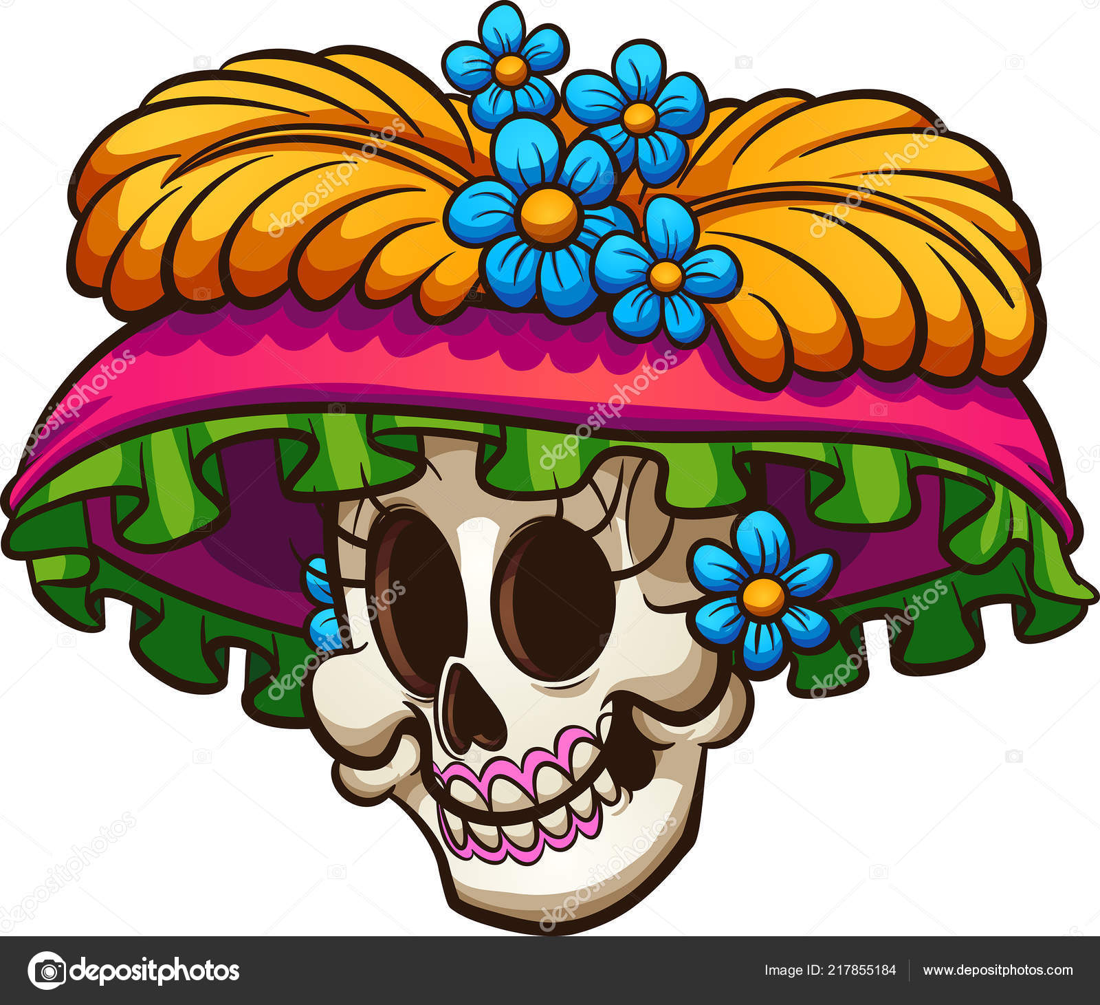 Clipart: day of the dead.