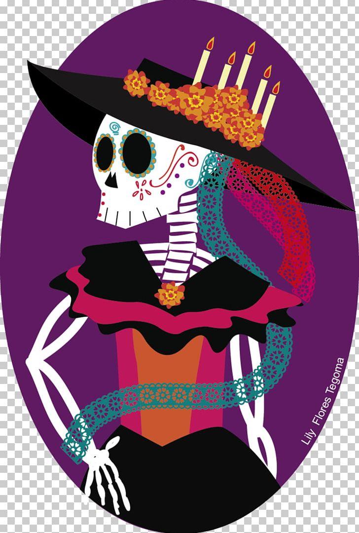 La Calavera Catrina PNG, Clipart, Art, Bone, Calaca, Calavera.
