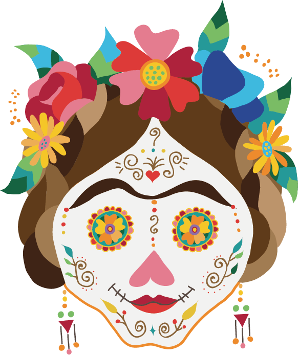 Mexican Catrina Png Vector, Clipart, PSD.