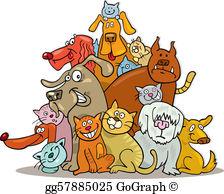 Cat Dog Clip Art.