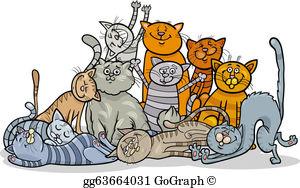 Cats Clip Art.