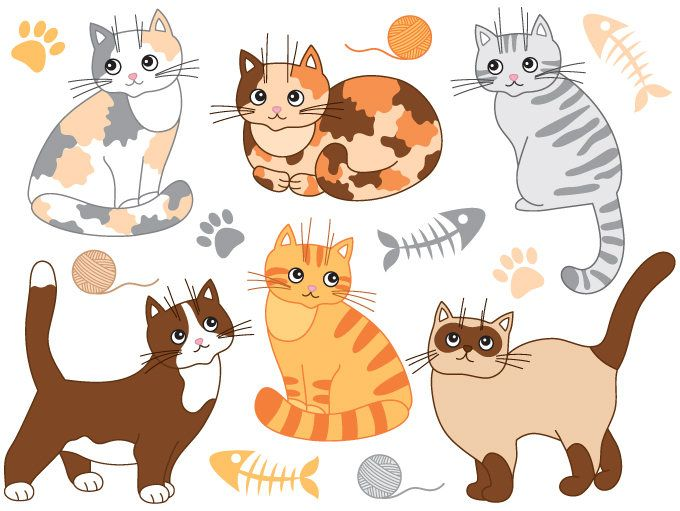 ❤ More Cat Clip Art Can Be Found Here: H #146209.