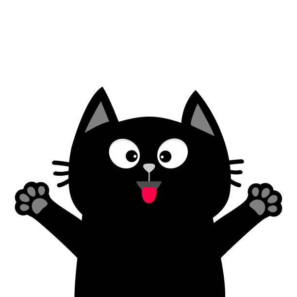 Best Funny Cat Illustrations, Royalty.