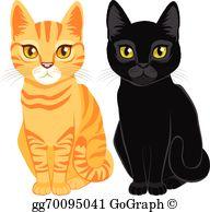 Orange Tabby Clip Art.