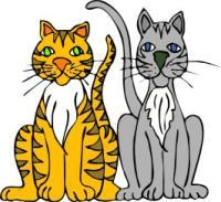 Free Cats Clipart.