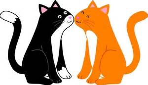 Two Cartoon Cats Clip Art at Clkercom vector clip art online, Two.
