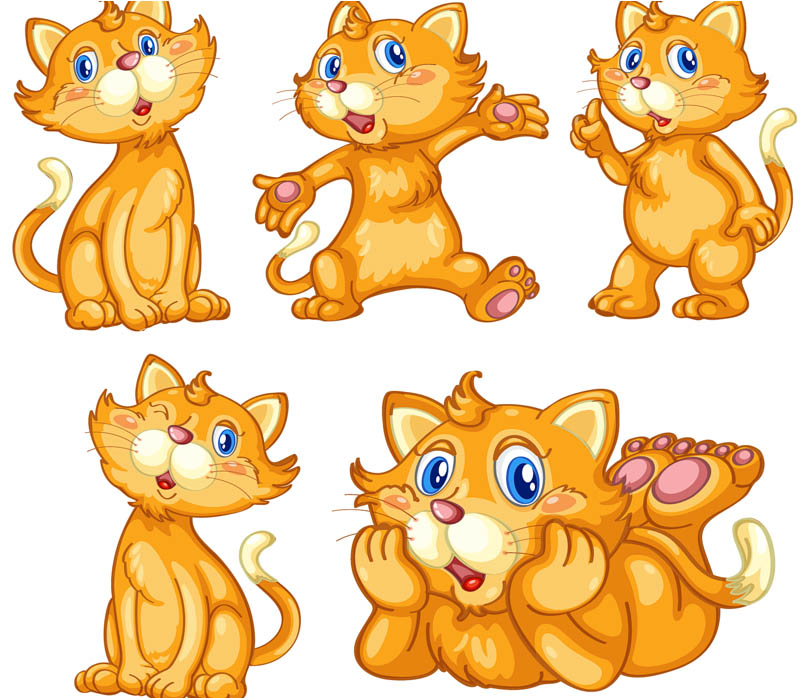 Cats clipart images.