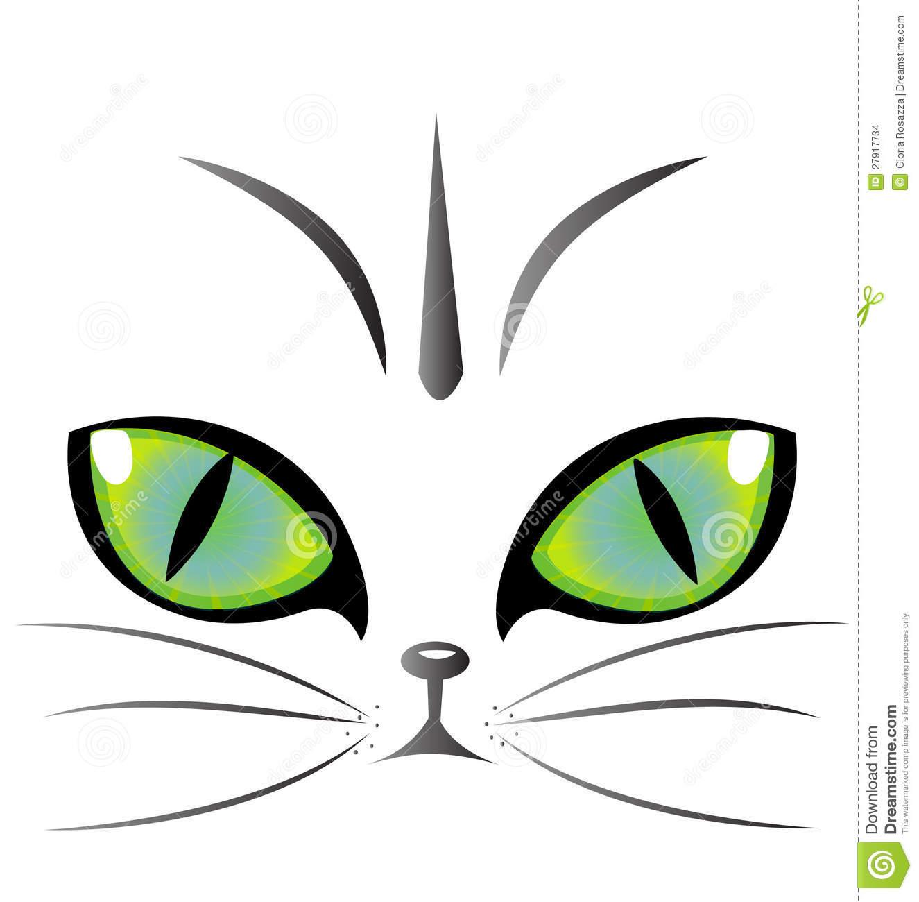 Cat Eyes Clipart.
