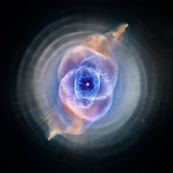 Eye of god nebula clipart.