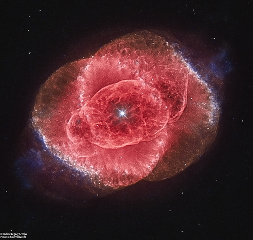 APOD: The Cat's Eye Nebula from Hubble (2017 Jan 30).