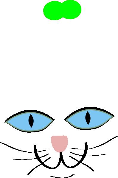 Free clip art cats eyes.