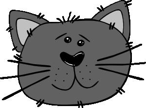 Cartoon Cat Face clip art Free Vector / 4Vector.