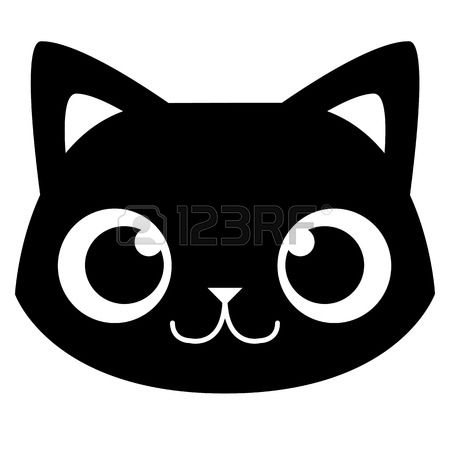15,536 Cat Face Stock Vector Illustration And Royalty Free Cat.