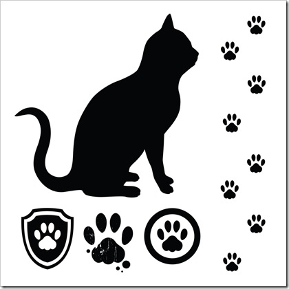 Cat Paw Tattoo.