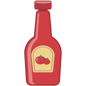 Ketchup Bottle clipart, cliparts of Ketchup Bottle free.