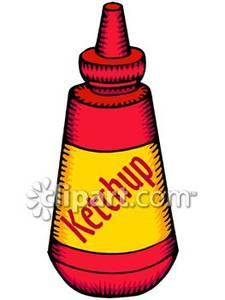 Catsup Clipart.