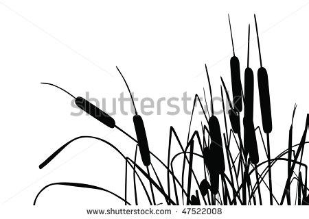 Cattail Clip Art.