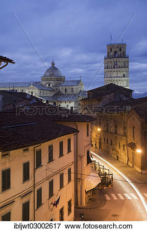 """Picture of """"Campanile, Leaning Tower of Pisa and Duomo di Santa."""