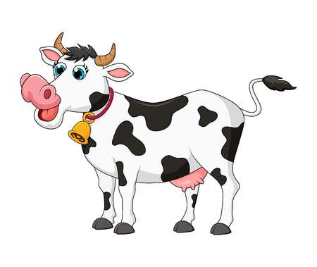 9,655 Funny Cow Stock Vector Illustration And Royalty Free Funny Cow.