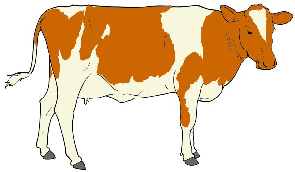 Free to Use & Public Domain Cow Clip Art.