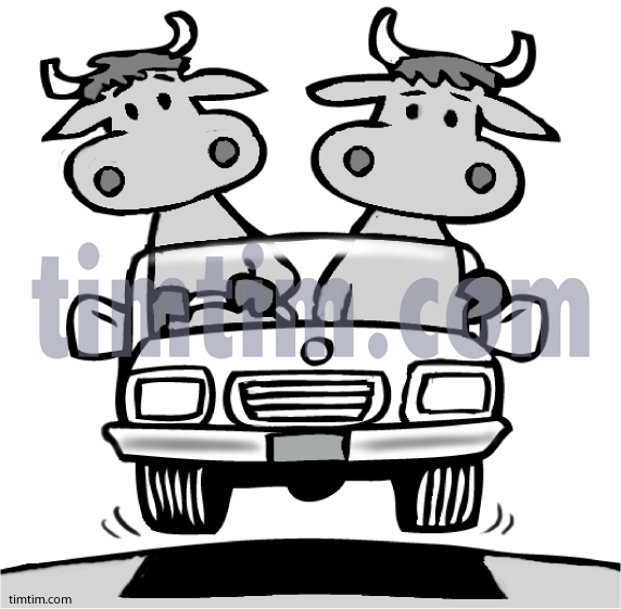 Cattle car clipart.