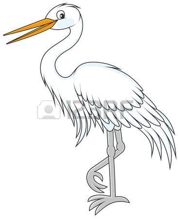 161 White Egret Stock Vector Illustration And Royalty Free White.
