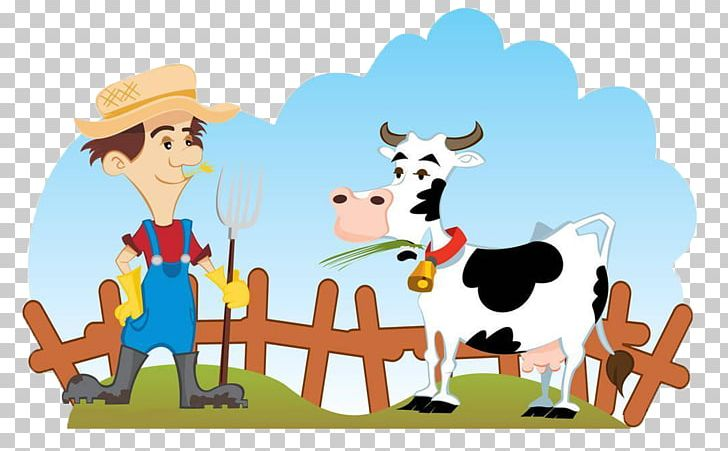 Cattle Farmer Dairy Farming PNG, Clipart, Agriculture, Animals, Art.