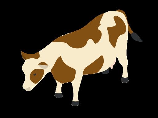 Animal, animals, cow, farm, rural icon.