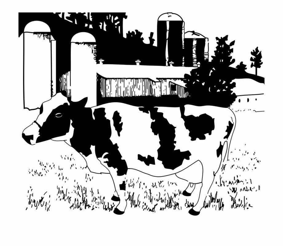 Farm Animals Clipart Cattle Farm.